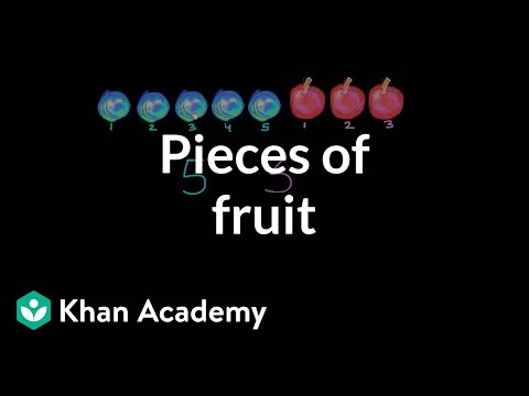Pieces Of Fruit | Basic Addition And Subtraction | Early Math | Khan Academy