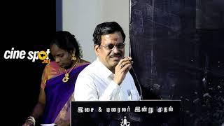 Kalaipuli S Thanu at Asura Guru Audio Launch