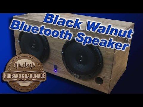 Easy DIY battery powered Bluetooth Speaker!