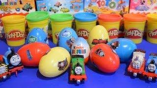 kinder surprise thomas and friends surprise eggs thomas the tank engine thomas no1 james gordon wow