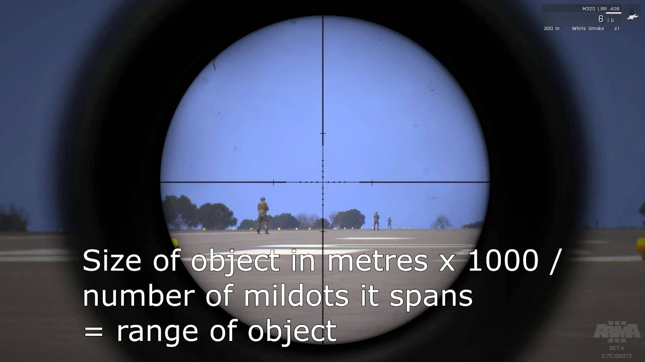 How To Snipe Like A Beast Using Mildots  Youtube