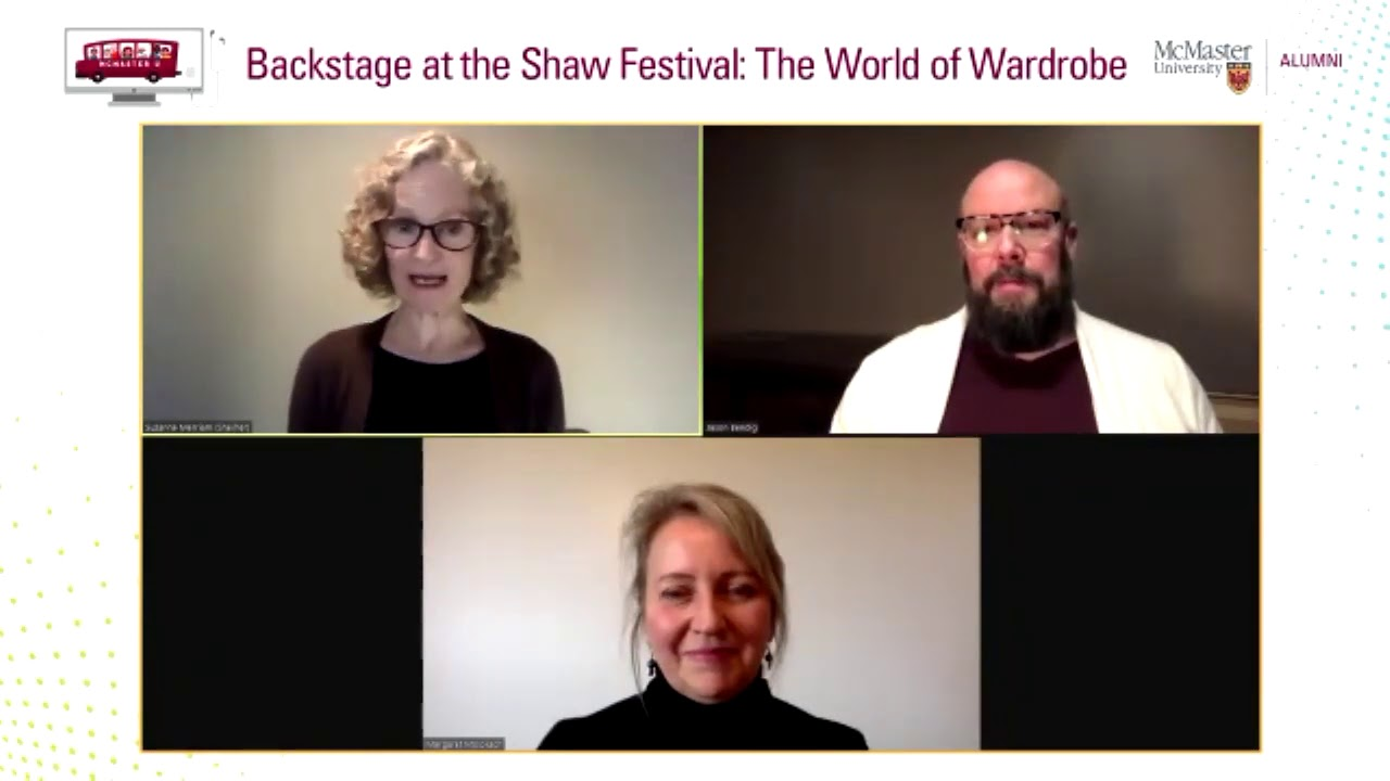 Image for Backstage at the Shaw Festival: The World of Wardrobe webinar