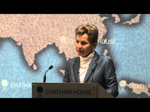 Christiana Figueres, Executive Secretary, UNFCCC at Chatham House Conference 2012