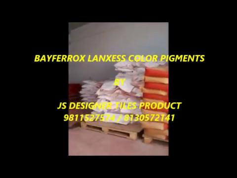 BAYFERROX LANXESS COLOR PIGMENTS