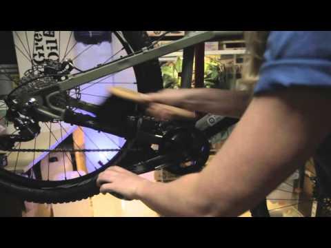 Ergonomic Drive Chain and Bicycle Brush