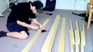 Как сделать простой диван.