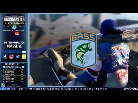 Bassmaster LIVE at Lake Martin- Friday
