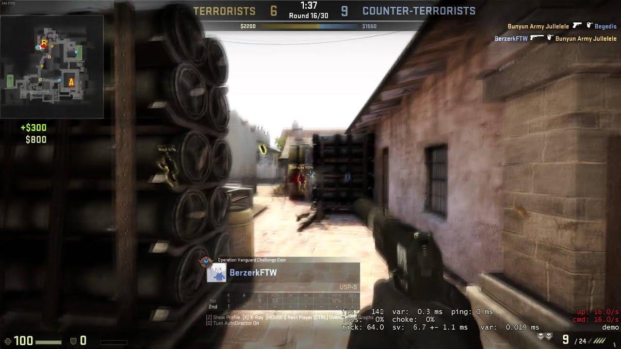 how to change default pistol cs go
