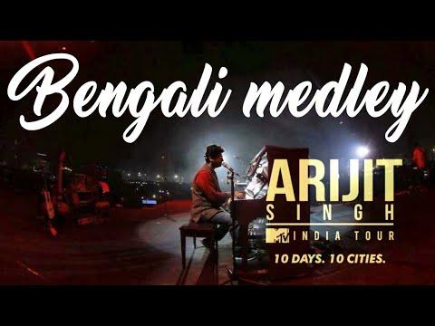 Bengali medley 2017 | ARIJIT SINGH LIVE at Eco park kolkata | Mtv india tour