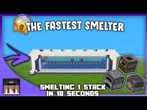 minecraft-tutorial-:-how-to-build-the-fastest-smelter-in-minecraft-all-versions