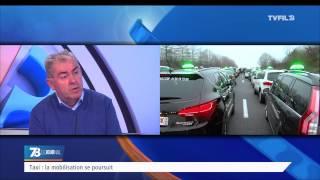 Taxi : la mobilisation se poursuit