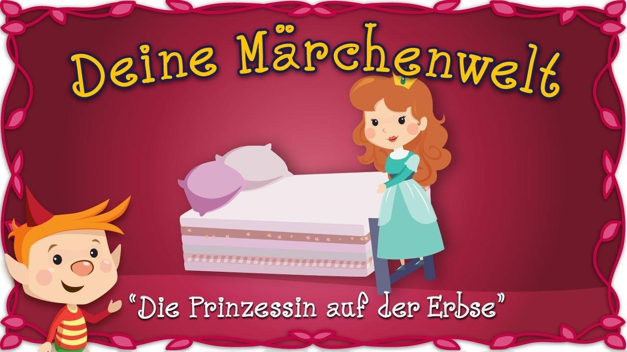 Prinzessin auf der erbse bett  Die Prinzessin auf der Erbse - Märchen für Kinder | Hans Christian ...
