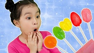 Learn Colors with Lollipops & Funny Baby Finger Family Nursery Rhymes for Сhildren