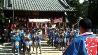 桶狭間神明社2011大祭 神楽会 お囃子