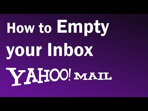 How do i delete email on yahoo mail