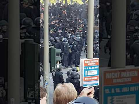 """Welcome to Hell"" uncut nocut Demo g20 Hamburg #G20 #welcometohell #hamburg"