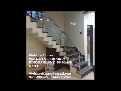 Stainless Steel Handrails Kerala Call 09400490326 Youtube
