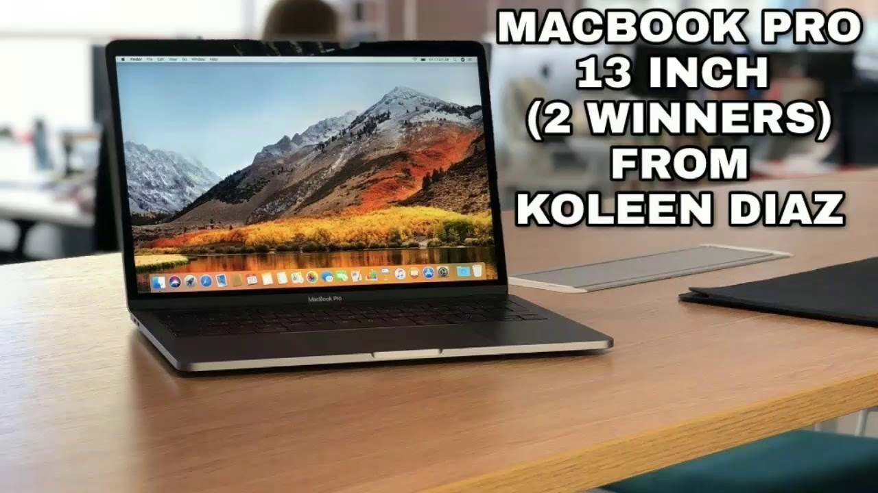 Apple macbook pro giveaways