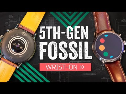 Fossil's Gen 5 Tries To Fix The Smartwatch
