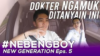 DR RICHARD LEE NGAMUK GARA-GARA PERTANYAAN BOY! #NebengBoy New Generation Eps. 5