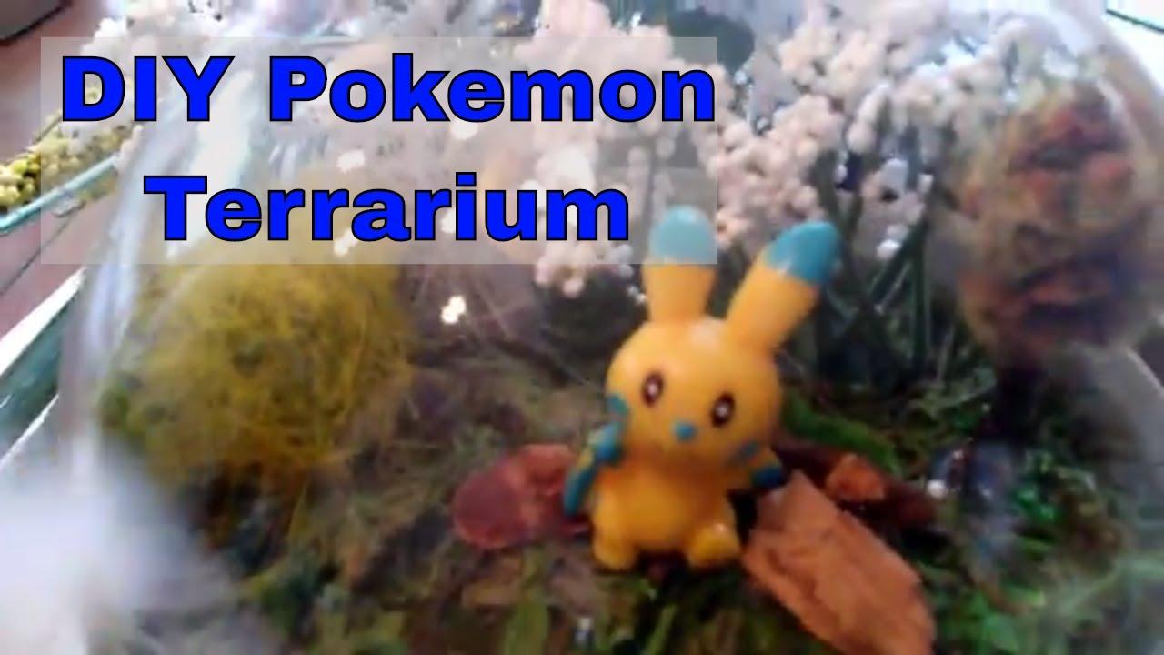 Diy Pokemon Terrarium Tutorial Youtube