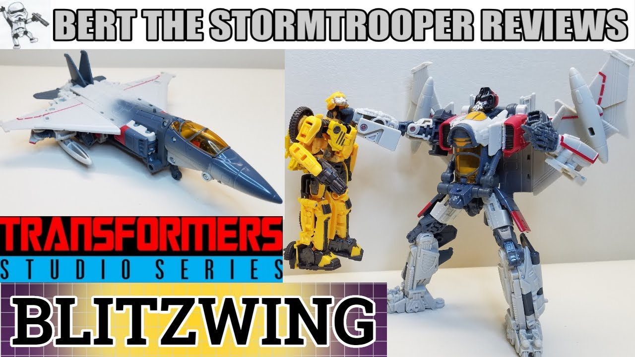 Transformers: Studio Series 65 BLITZWING Review by Bert the Stormtrooper!