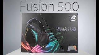 Гарнитура ROG Strix Fusion 500 - Обзор