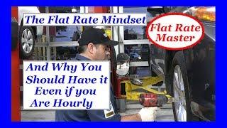 The Flat Rate Mindset