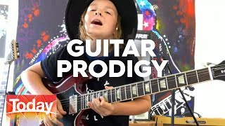 Guitar prodigy Taj Farrant | TODAY Show Australia