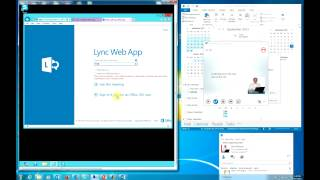Office365 Using Lync to share desktops