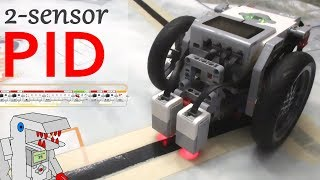 2 Sensor PID Line Follower - The Most Efficient EV3 Line Follower
