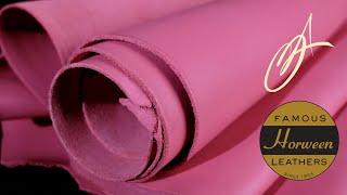 Horween Leather - Bubble Gum 5-6oz