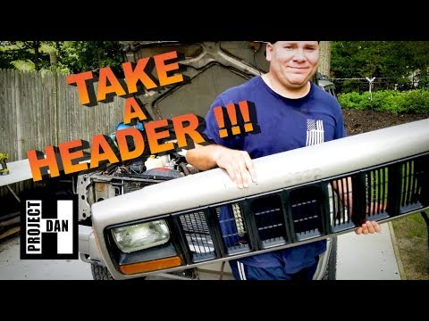 JEEP XJ HEADER PANEL REMOVAL FOR 1997-2001 CHEROKEES