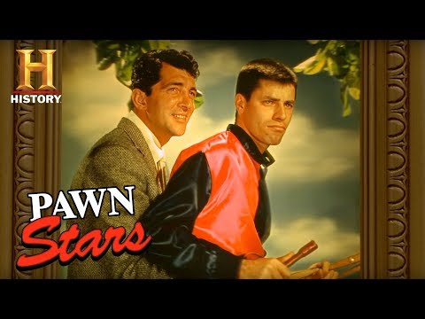 Pawn Stars: Martin and Lewis 3D Poster | History