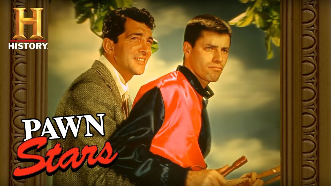 Pawn Stars Martin And Lewis 3d Poster History Youtube
