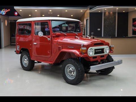 1975 Toyota Land Cruiser FJ 40 For Sale