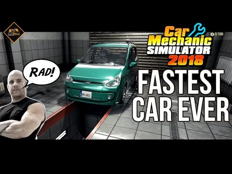 Vin Diesel presents the fastest car ever(*) Car Mechanic Simulator part 3