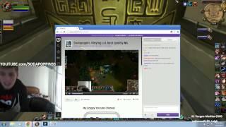 friend hijacks my webcam for his live stream thumbnail