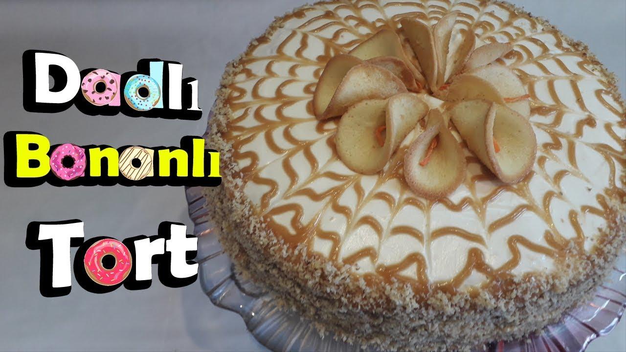 Bananli tort
