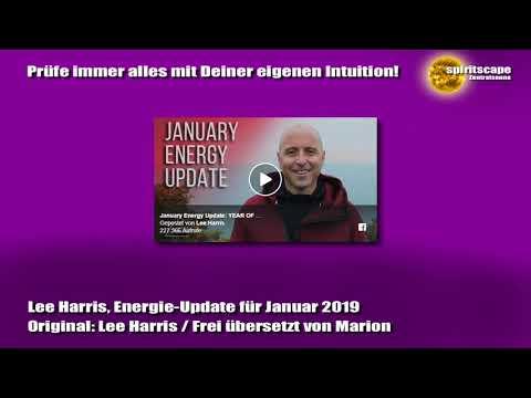 Lee Harris, Energie-Update für Januar 2019