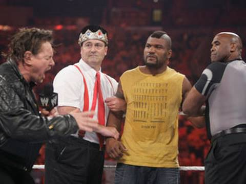 "Raw: ""The A-Team"" engage in a ""rowdy"" encounter"