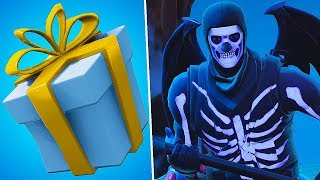 Fortnite-GIFTS WILL COME BACK!? NEW LEGENDARY SWORD OP!! FREE CREATIVE MODE!! Squads