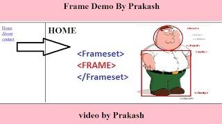 HTML Frame Website Tutorial