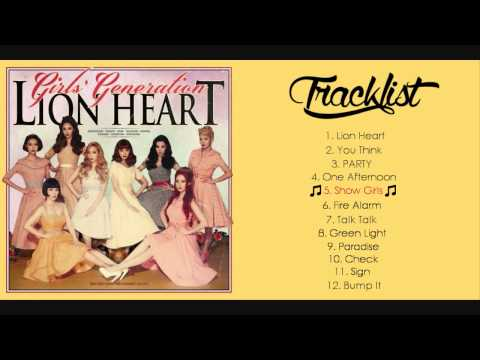 [FULL ALBUM] Girls' Generation - Lion Heart HQ