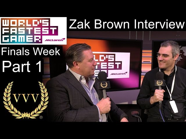 WFG Finals Part 1: Zak Brown Interview