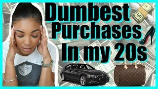 Money Mistakes to Avoid in Your 20s - My Dumb Purchases & Regrets | Brittany Daniel