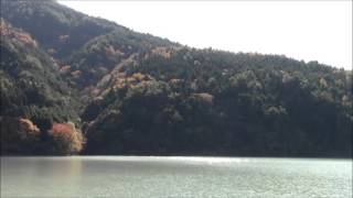 """Akaishi-Maru"" Boat on Ikawa Lake 6 井川湖の赤石丸 Bote ""Akaishi-Maru"" de Lago Ikawa"