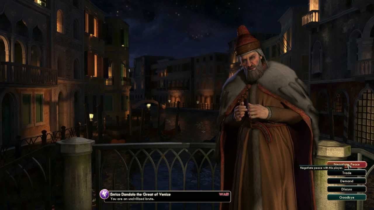 maxresdefault civilization v leader enrico dandolo of venice youtube