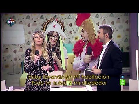Anna Simon trae al Juego de la Semanna un Karaoke Incompleto