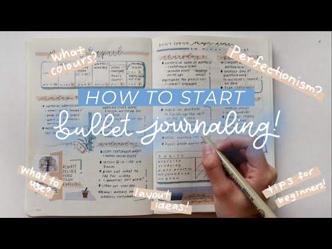 Bullet Journal for Beginners! | How to Start Your Own Bullet Journal